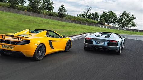 Lambo Vs by Speed Week Lambo Aventador Vs Mclaren 12c