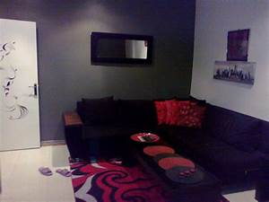 Salon Noir Et Rouge. chambre blanc gris et rouge. salon rouge et ...