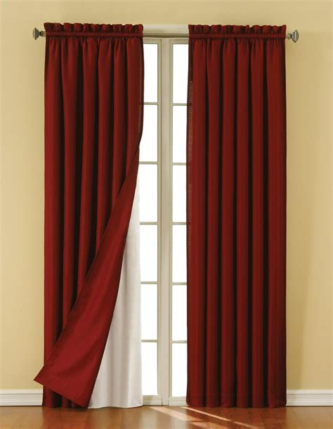 eclipse curtains blackout thermaliner pair home home