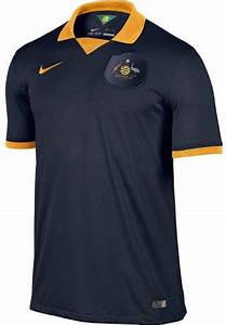 Australia 2014 World Cup Home and Away Kits Released ...