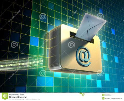 Service De Messagerie électronique Images Stock