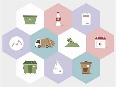 Trash Analytics Animated Animation Dribbble Waste Recycling