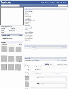 Facebook Page Template cyberuse