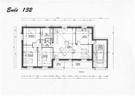 plan de maison darchitecte gratuit maison moderne