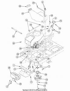 Troy Bilt 17af2acp766 Mustang Rzt 50  2007  Parts Diagram For Engine Connections