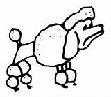 Coloring Pages Poodle Dogs Dog Coloringpages101 Kidprintables Return Main Pdf sketch template