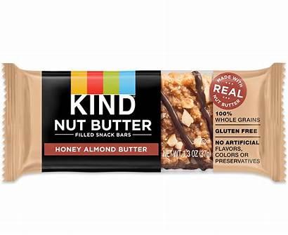 Butter Nut Almond Snacks Bars Peanut Honey