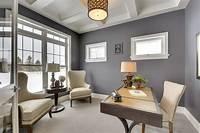 home design ideas 17+ Gray Home Office Furniture, Designs, Ideas, Plans ...