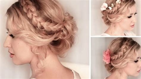 Prom Hairstyle Thin Hair YouTube
