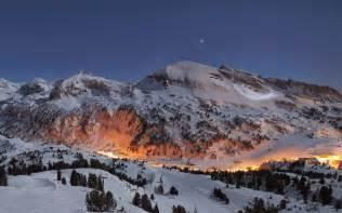 Snow Mountain Night