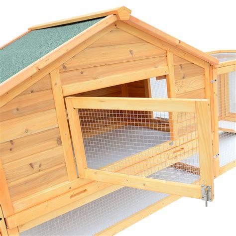 portable rabbit hutch petrum portable wood rabbit hutch backyard hen house