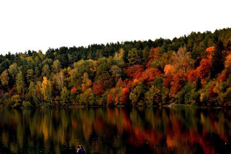 Rudens spalvos - Ramus vakaras prie Žaliųjų ežerų   We ...