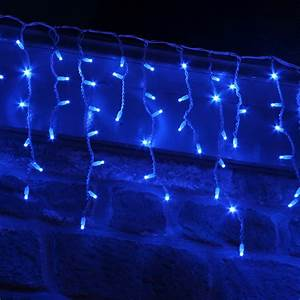 Led light design fantastic blue christmas lights