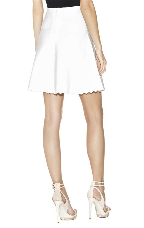 Fay Scallopededge Aline Skirt Herveleger