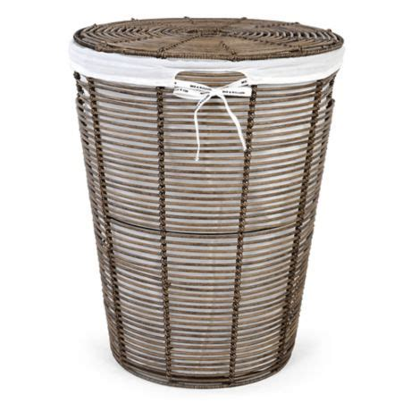Bee Willow Home Poly Rattan Laundry Hamper  Liner