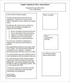 Free Non Profit Annual Report Template by Doc 585390 Simple Annual Report Template Annual Report