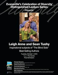 Diversity Lecture Series Presents Leigh Ann and Sean Tuohy ...