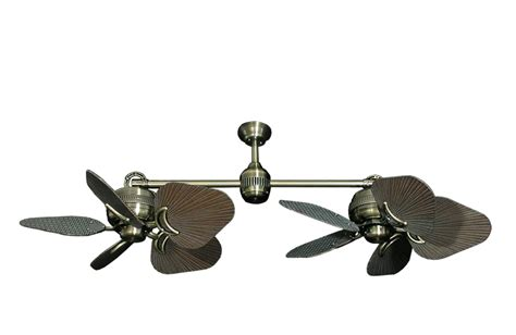 Outdoor Dual Oscillating Ceiling Fan by Dual Outdoor Ceiling Fans Lighting And Ceiling Fans