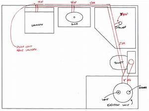 Bat bathroom rough in plumbing diagram bat get free for How to install bathroom in basement without rough in