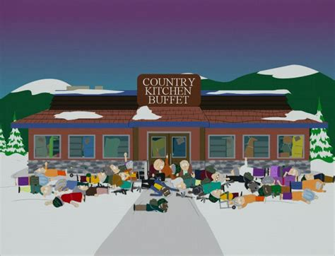 Country Kitchen Buffet  South Park Archives Cartman