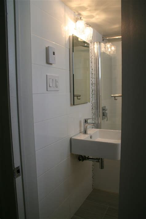 Modern Bathroom Budget by Basement Bathroom Remodel On A Budget Modern Bathroom