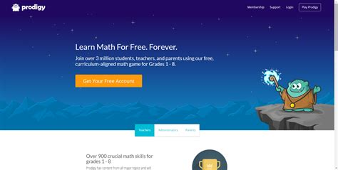 prodigy math learn math for free forever