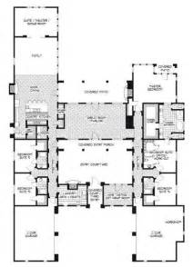 Inspiring Hacienda Style Homes Floor Plans Photo by Flowing Floor Plans On Small House Plans