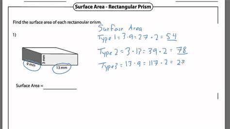 Rectangular Prism Surface Area  Wwwpixsharkcom  Images Galleries With A Bite