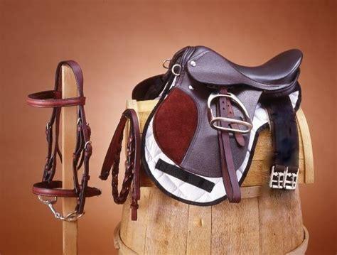 saddle english donkey miniature horse package saddles pony supplies mule brown dark mini bridles