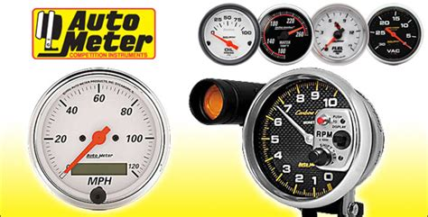 Auto Meter Ford Racing Gauges Universal