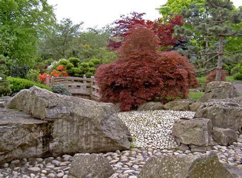 Japanischer Garten, ästhetisch Optischer Genuss