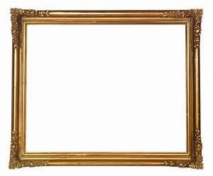 Papier peint cadre baroque dore ancien o pixersr nous for Kitchen cabinets lowes with poser papier peint