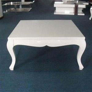 white square coffee table center table simple living room With small square white coffee table