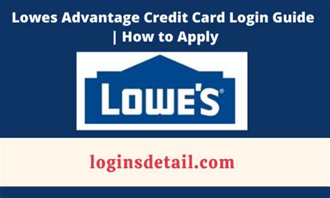 We did not find results for: Lowes Advantage Credit Card Login Guide   How to Apply