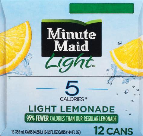 minute light lemonade calories calories in minute light lemonade decoratingspecial