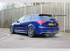 Audi RS3 8P installed with BBS CHR in Satin Anthracite at