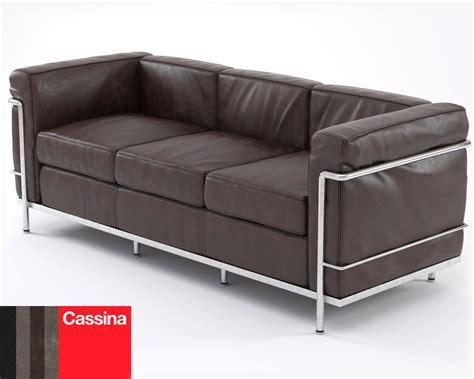 canap lc2 le corbusier 3d le corbusier sofa lc2