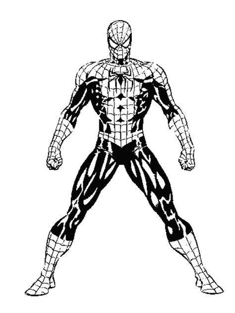 spider man da colorare  stampare  disegni spiderman