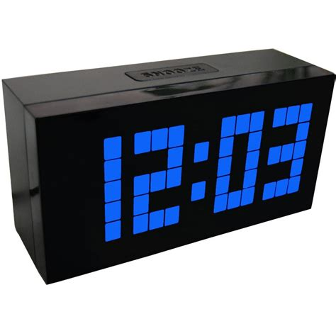 large display big jumbo creative alarm clock light digital