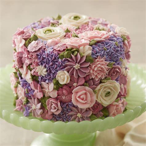 spring flower cake wilton