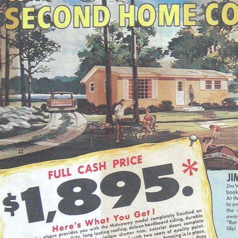 vtg jim walter homes home floor plans ad brochure print cottage construction house floor plans