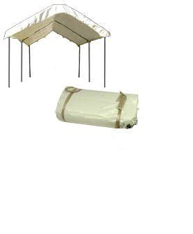 frame canopy replacement cover white
