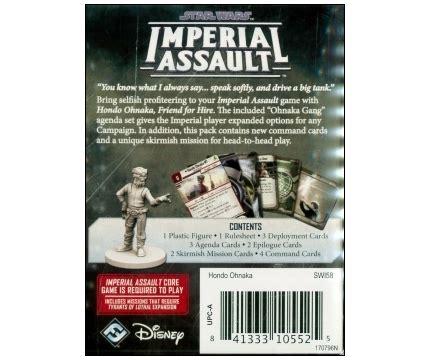 Star Wars: Imperial Assault - Hondo Ohnaka Villain Pack ...