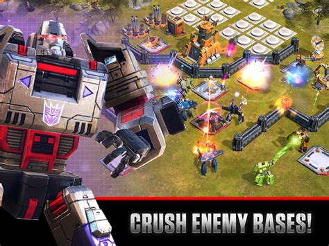 android wars transformers earth wars arrives on android android