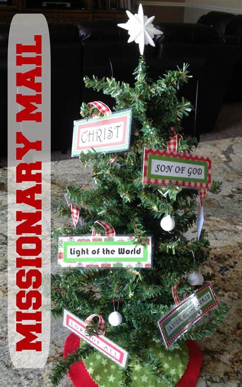 missionary mail christmas tree