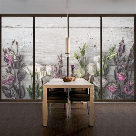 Sichtschutz Fenster Ebay fensterfolie sichtschutz fenster tulpen shabby