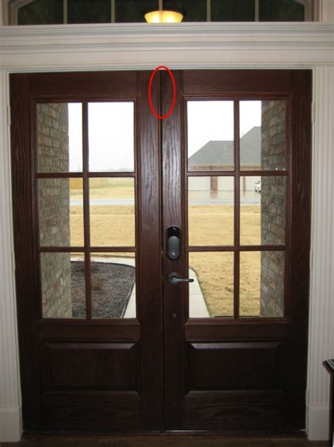 double front doors  close tight windows