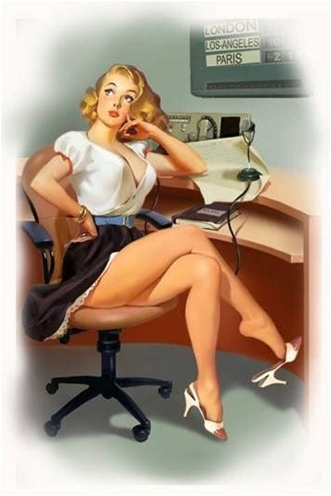 desk radio for office thoughtful secretary art pin up pinterest