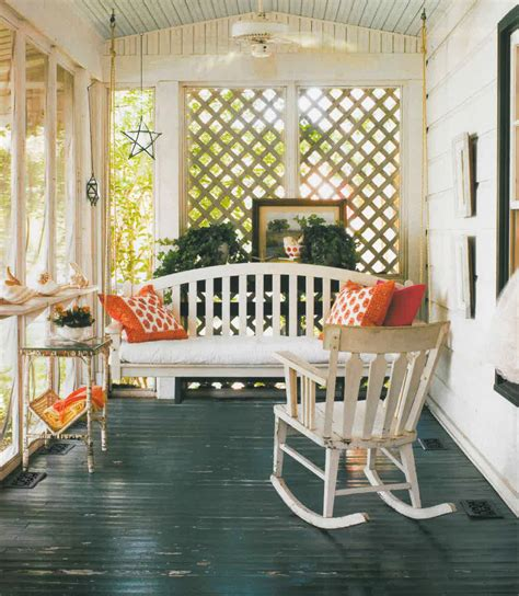 Southern Style Porches by Southern Style Summer Porches In An M Bungalow D