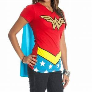 Wonder Woman Caped T Shirt A Mighty Girl